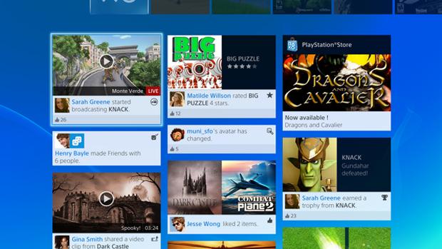 Feed social mostra o que seus amigos andam fazendo (Foto: Eurogamer)