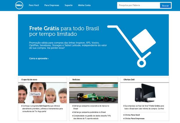 Acesse o site da Dell para procurar o driver que você precisa (Foto: Reprodução/TechTudo)