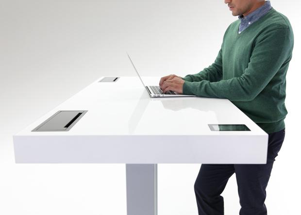 Mesa inteligente pretende aumentar produtividade de usuários (foto: Divulgação)