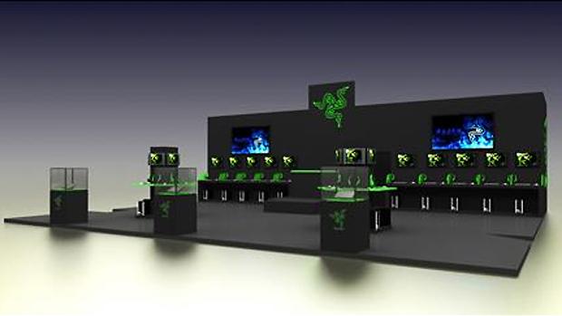 Estande da Razer na BGS 2013 contará com torneios de Crossfire (Foto: Divulgação)