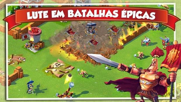 """Para quem sentia falta de um &squot;Clash of Clans"""" no Android, a Gameloft lançou Total Conquest  (Foto: Divulgação)"""
