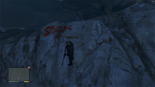 """O nome """"Jock"""" aparece escrito com sangue. Seria o assassino de Jolene? (Foto: Reprodução)"""