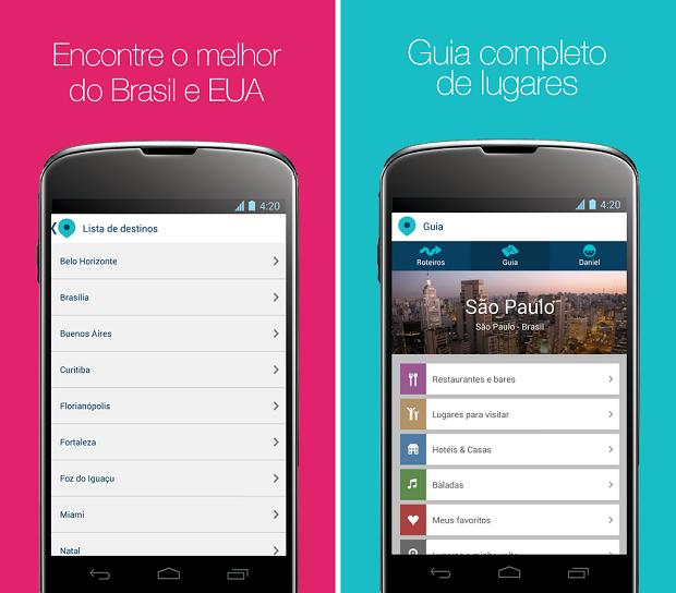 Nativoo é um aplicativo que criar roteiros de viagem personalizados de acordo interesses do usuário (Foto: Reprodução)