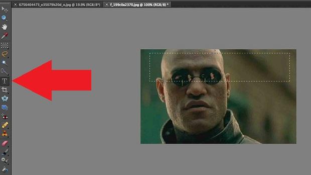 Photoshop online permite fazer edições mais elaboradas nos seus memes (Foto: Reprodução/Internet)