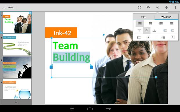 Quickoffice é um aplicativo para mexer em arquivos dos três principais programas do pacote Office da Microsoft (Foto: Reprodução)