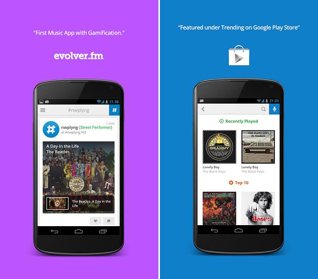 Share music with nowplaying é um aplicativo para compartilhar músicas e clipes das bandas favoritas (Foto:Reprodução)