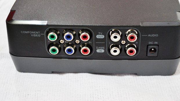 GCHD possui entrada e saída em vídeo componente. (Foto: Renato Carvalho)