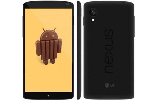 Nexus 5 com Android 4.4 (Foto: Reprodução/GSM Insider)