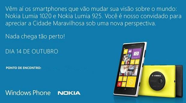 Nokia fará evento no Rio para apresentar novos Lumias (Foto: Divulgação)