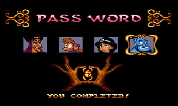 Aladdin dá uma verdadeira aula de como deveriam ser os passwords (Foto: Reprodução)