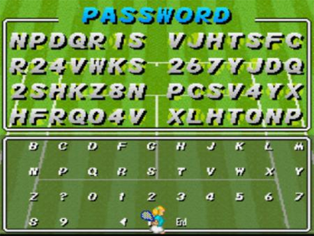 Jogos de esporte do passado, sinônimo de passwords intermináveis (Foto: Reprodução)