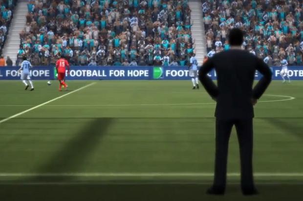 Ser técnico no Fifa 14 é muito divertido (Foto: Divulgação)