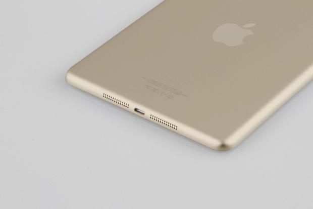 iPad mini 2 dourado aparece com tela Retina e touch ID; iPad 5 terá novo design (Foto: Reprodução/BGR)