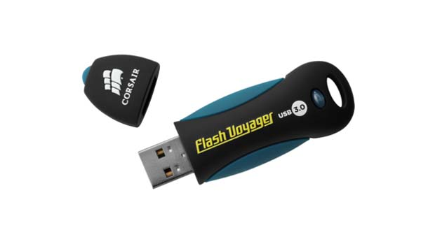 Pendrive Corsair traz tecnologia USB 3.0 e capacidade de 8 GB. Foto: Reprodução. (Foto: Pendrive Corsair traz tecnologia USB 3.0 e capacidade de 8 GB. Foto: Reprodução.)
