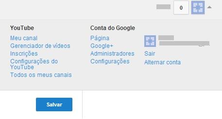 Escolhendo o canal do YouTube que será deletado (Foto: Reprodução/Carolina Ribeiro)