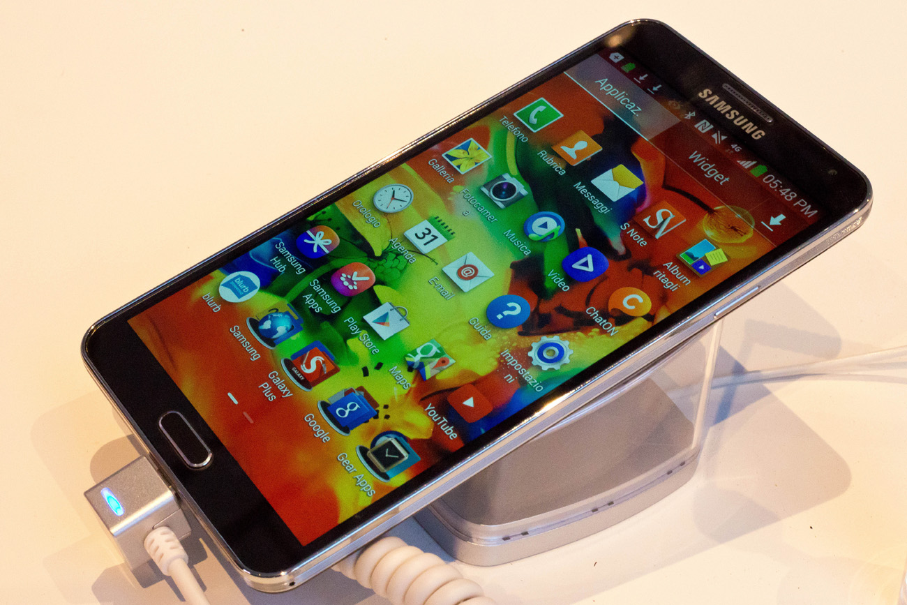 Galaxy Note 3 (Foto: AP)