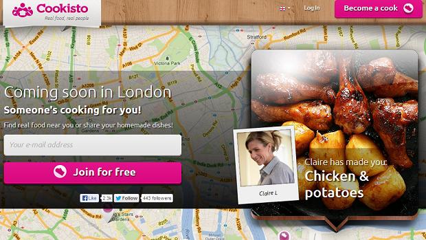 Cookisto está chegando a Londres (Foto: Reprodução)
