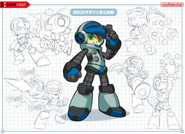 Beck é o Mighty No. 9, o nono de uma série de robôs (Foto: Divulgação)