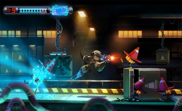 Mighty No. 9 é um sucessor espiritual de Mega Man (Foto: Divulgação)