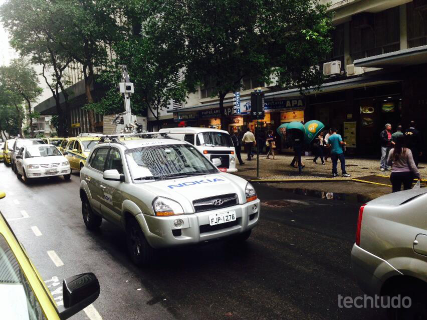 Nokia já iniciou a captura de imagens para seu mapa, Here, no Brasil (Foto: Carlos A. Quintella)