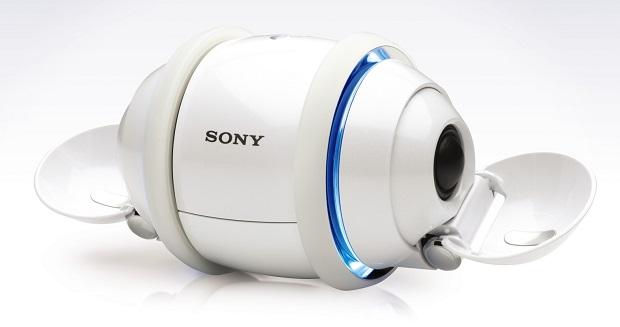 Sony Rolly era uma mistura entre caixa de som e robozinho dançante (Foto: Divulgação)