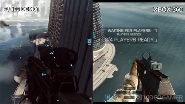 Battlefield 4 impressiona no Xbox 360, mas iluminação estática deixa a desejar (Foto: Reprodução)