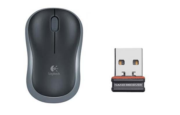 Logitech M185 é um mouse óptico com receptor Nano USB e alimentação por pilhas AA (Foto: Divulgação)