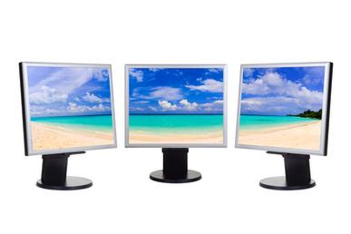 Configurando multiplos monitores no mesmo computador (Foto: pond5)