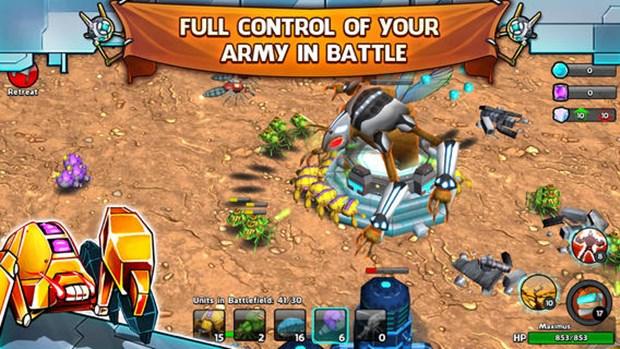 """Armies & Ants mostra que os jogos no estilo """"Clash of Clans"""" podem ter gráficos 3D (Foto: Divulgação)"""