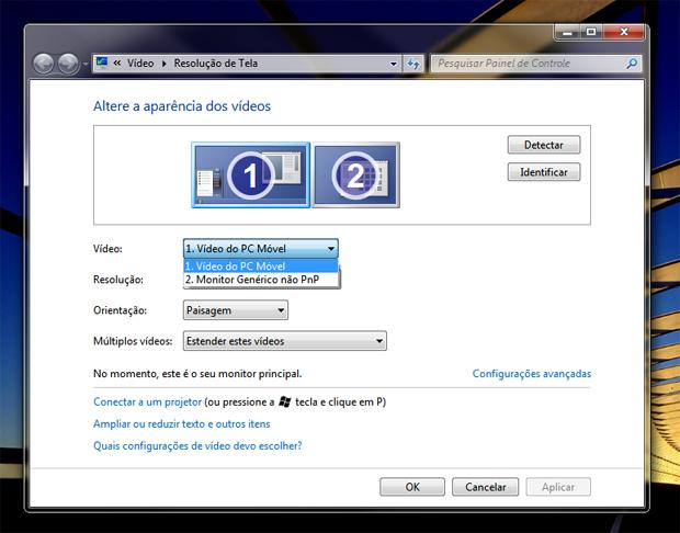 Configurando vídeo (Foto: Reprodução/Teresa Furtado)