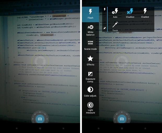 Focal é um aplicativo que oferece mais recursos à câmera de um dispositivo Android (Foto: Divulgação)