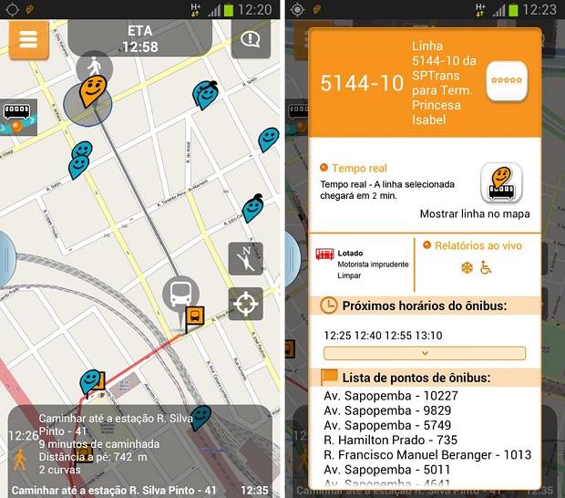 Moovit é um aplicativo para compartilhar informações sobre o transporte público e trânsito em cidades brasileiras (Foto: Divulgação)