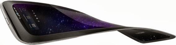 """O Galaxy """"flexível"""" terá configurações similares as do Galaxy S3 (Foto:Reprodução/AndroidAs)"""