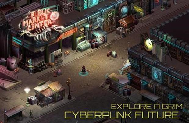 Jogo de RPG para iPad impressiona pelo estilo cyberpunk (Foto: Divulgação)