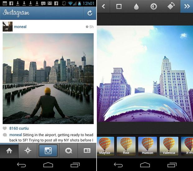Instagram chegou ao Android só em 2012 (Foto: Divulgação)
