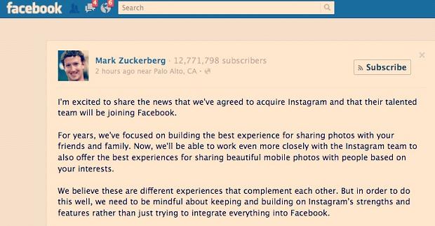 Zuckerberg festejou acordo no Facebook (Foto: Reprodução/PaperMag)