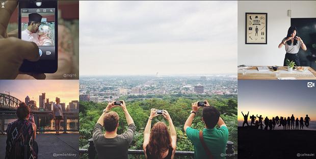 Instagram postou montagem para comemorar a marca (Foto: Divulgação)