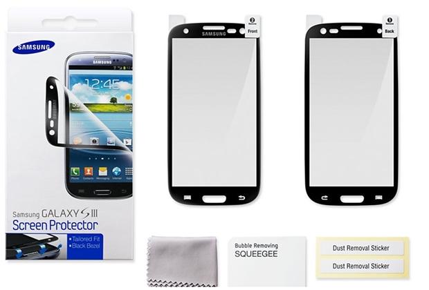 Kit da Película Protetora Galaxy S III (Foto: Divulgação/Samsung)