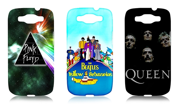 Capas das bandas de rock Pink Floyd, Beatles e Queen (Foto: Divulgação/Nação Geek)