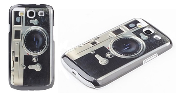 Case Dura para Samsung Galaxy S3 Câmera Retro (Foto: Divulgação/MiniInTheBox)