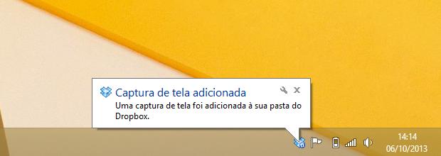 Captura de tela salva no Dropbox (Foto: Reprodução/Helito Bijora)