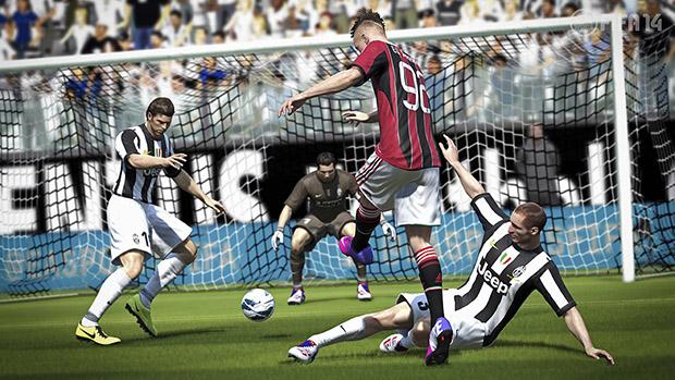 El Shaarawy também será alvo das melhorias da atualização de Fifa 14 (Foto: Divulgação)