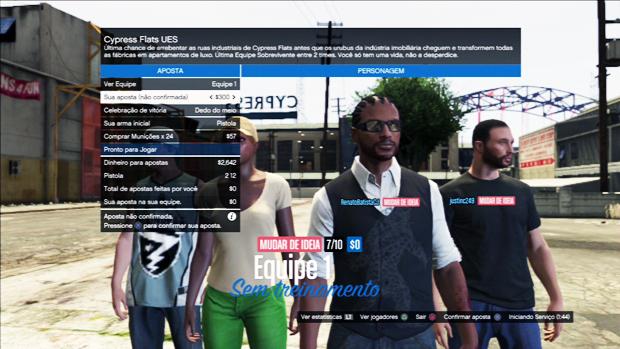 GTA Online oferece o ocnvencional deadmatch. (Foto: Reprodução) (Foto: GTA Online oferece o ocnvencional deadmatch. (Foto: Reprodução))