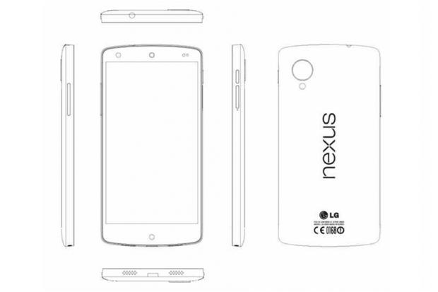 Nexus 5 deve chegar ainda neste mês (Foto: Reprodução/The Droid Guy)