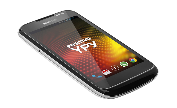 Positivo Ypy S460 TV tem Android 4.2, tela de 4 polegadas e sintonizador de TV (Foto: Divulgação/Positivo)