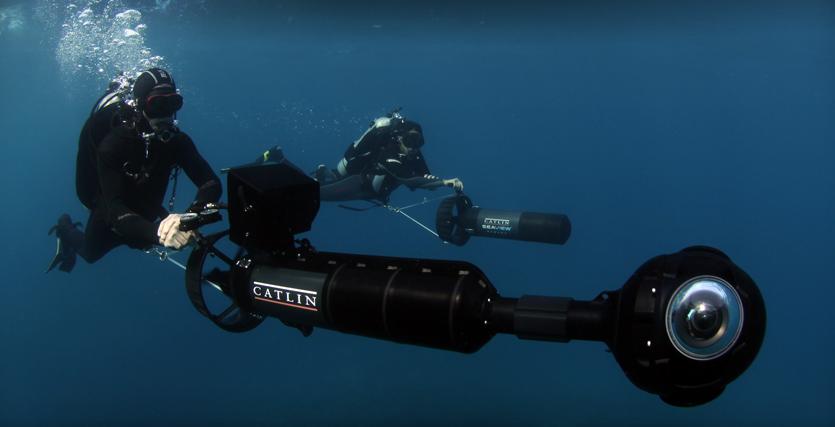 Câmera especial tira fotos em até 360 graus (Foto: Reprodução)
