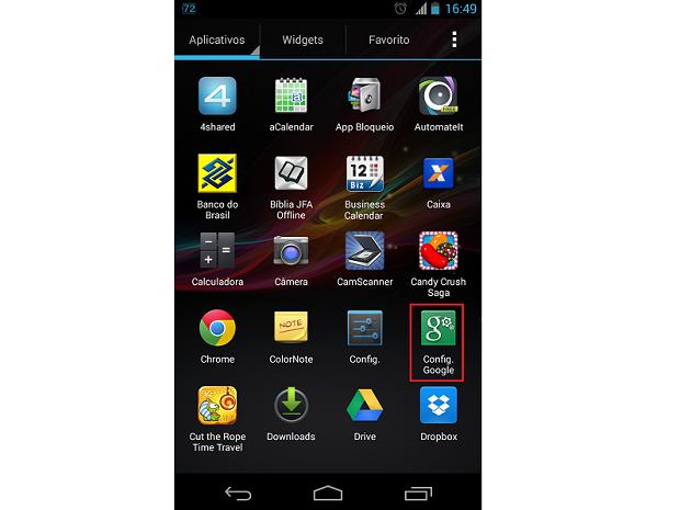 Acesse o aplicativo Configurações do Google em seu Android (Foto: Reprodução/Thiago Bittencourt) (Foto: Acesse o aplicativo Configurações do Google em seu Android (Foto: Reprodução/Thiago Bittencourt))