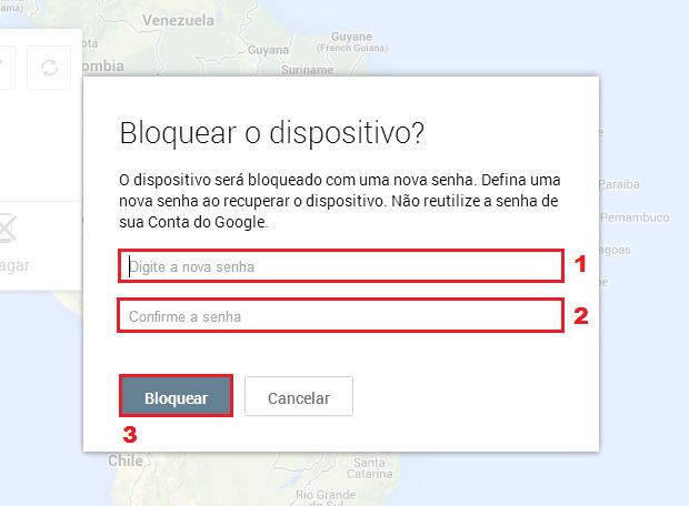 """Cadastre a senha para desbloqueio e clique no botão """"Bloquear"""" (Foto: Reprodução/Thiago Bittencourt) (Foto: Cadastre a senha para desbloqueio e clique no botão """"Bloquear"""" (Foto: Reprodução/Thiago Bittencourt))"""