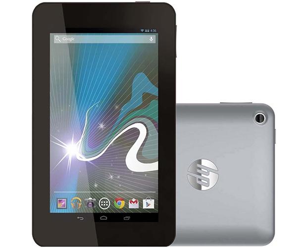 Slate 7 é opção econômica de tablet, com tela de 7 polegadas e Android Jelly Bean (Foto: Divulgação/HP)
