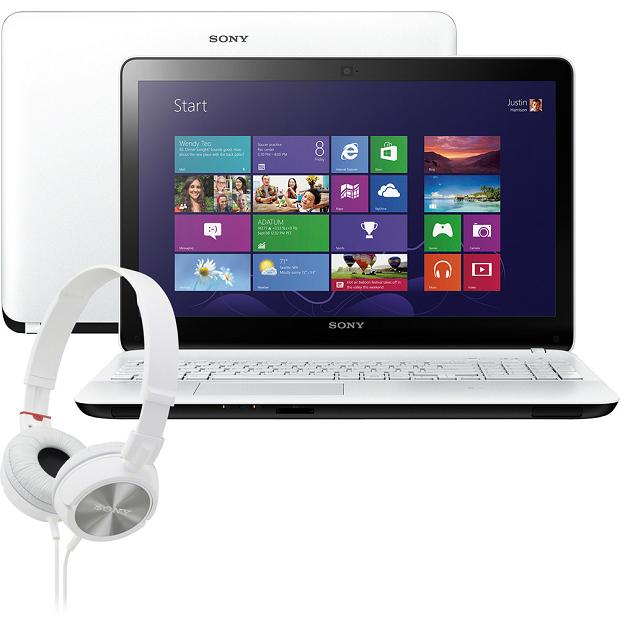 Notebook da Sony tem visual arrojado, tela de 15,5 polegadas e Windows 8 (Foto: Divulgação/Sony)